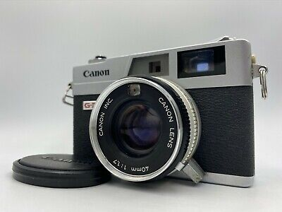 *Exc++++* Canon Canonet QL17 GIII Film Camera w/ 40mm F/1.7 Ship by DHL &1333, used for sale  Shipping to Canada