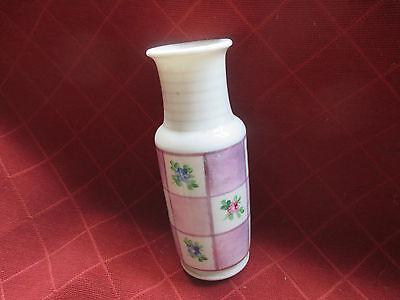 old victorian lustreware handpainted posy vase