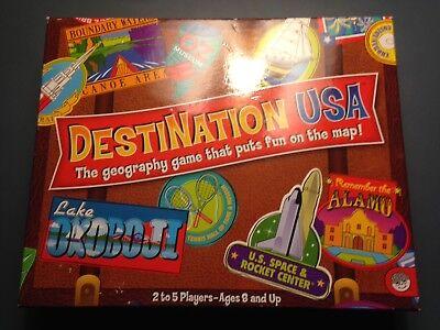 Destination USA Board Game By MindWare geography game (Destination Usa)