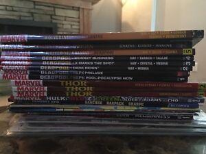 Various comics/graphic novels