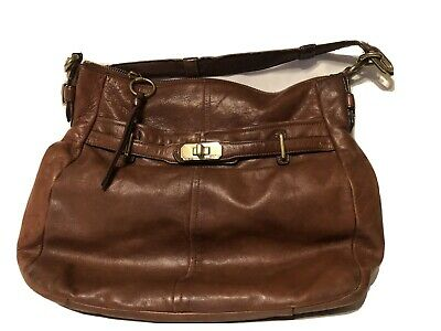 Authentic Coach Leather Tote Handbag Purse