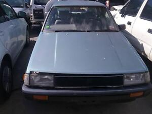 NOW WREAKING TOYOTA COROLLA BLUE COLOR ALL PARTS 1986 Dandenong South Greater Dandenong Preview