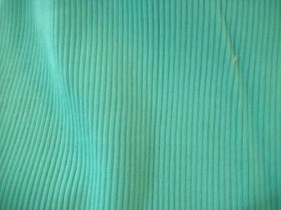 (Green tube rib knit fabric  approx 13