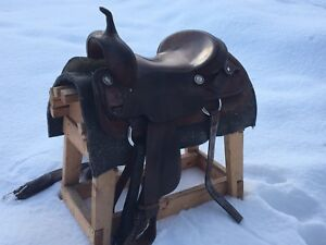 17inch Western Saddle + Other Tack