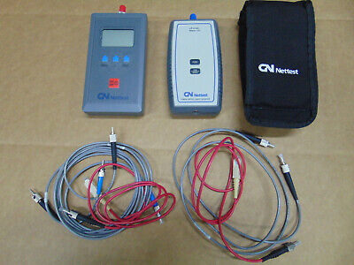 Gn Nettest Gn6000 Fiber Optic Power Meter Lp-5100 Light Source
