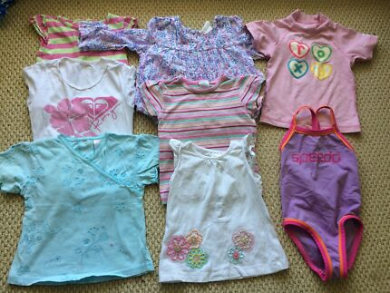 Summer clothes - Size 1 for girls