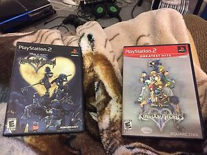 Kingdom Hearts 1 and 2 (PS2) Complete