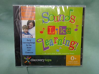 Discovery Toys Sounds Like Learning, fun CD, New and SEALED!