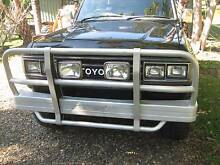 LANDCRUISER 60 SERIES ALLOY BULLBAR WITH LIGHTS (GREAT CONDITION) Buderim Maroochydore Area Preview