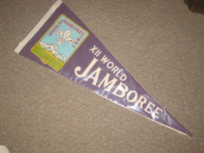 1967 World Jamboree Pennant