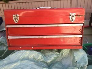 Two Drawer Toolbox