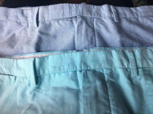 Nwt Polo Ralph Lauren Dress Shorts Blue Turquoise  38 40 42 Z-003  Box 95