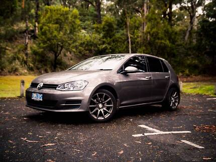 2013 Volkswagen golf 90TSI 7 Manual Hobart CBD Hobart City Preview