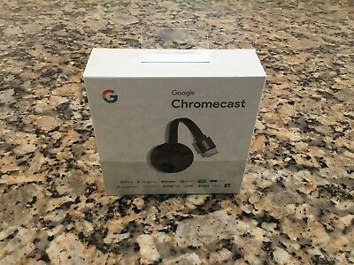 Brand New Sealed Google Chromecast (2nd Generation) HD Media Streamer - Black