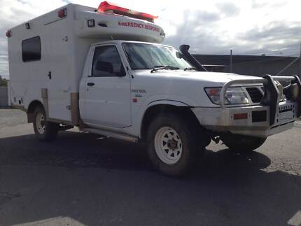 2002 Nissan Patrol 4.2 diesel-factory turbo--Ex ambo.make camper? Burleigh Heads Gold Coast South Preview