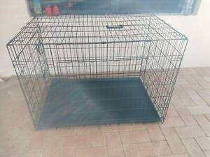 Dog Pet Crate Large 1.07m New
