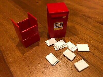Playmobil mailbox with letters from Christmas advent calendar 4161 (comb. ship)
