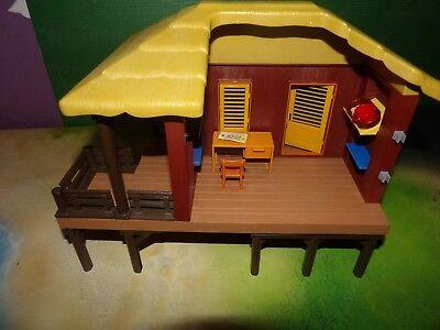 Dschungel Playmobil 4826 Oambati Wildtier Pflegestation mit viel extra Zubehör.