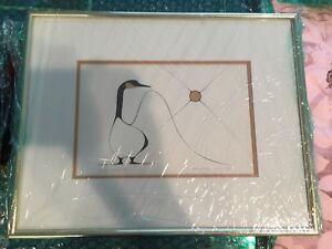 Framed Benjamin Chee Chee print