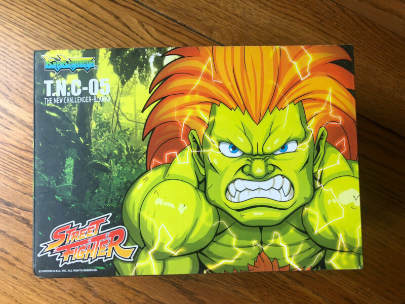 Big Boy Toys Street Fighter The New Challenger Blanka