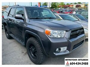 2011 Toyota 4Runner SR5 V6; Local & No accidents!