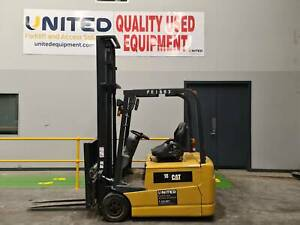 Used 1.8 Tonne CAT Electric Forklift Altona Hobsons Bay Area Preview