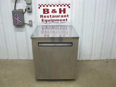 Delfield 27 Under Counter Stainless 1 One Door Refrigerator Cooler 406-star2