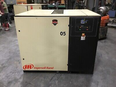 Ingersoll Rand Cbv212928 Rotary Screw Air Compressor 3 Ph 50 Hp 34bk
