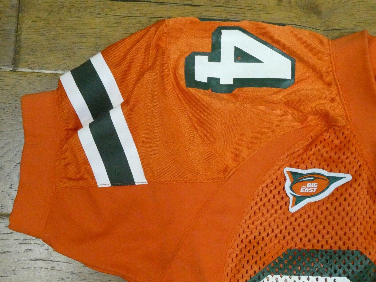 Jarrett Payton Miami Hurricanes Game Used Football Jersey 2004 Orange Bowl MVP - $1,799.99