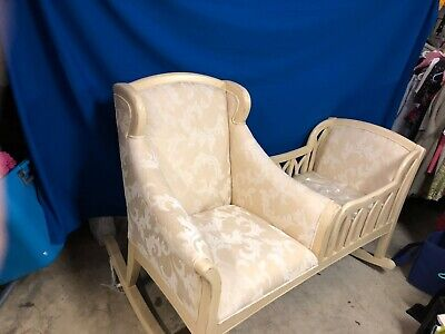 CRADLE ROCKER AND ROCKING CHAIR  NEW NEVER USED *  PICK UP ONLY