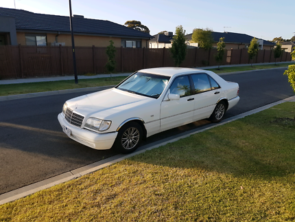 Mercedes s320 1997 RWC and 1 year Rego