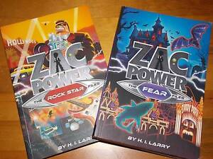 Zac Power Books x 2: The Rockstar Files & The Fear Files Parkinson Brisbane South West Preview