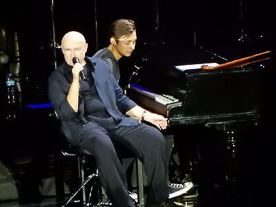 PHIL COLLINS NOT DEAD YET TOUR PIC`S Face Value, Going Back, Both Sides, Testify