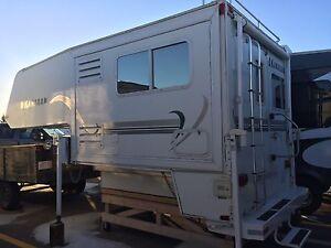 Okanagan 811sl truck camper true 4 season camper