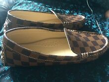 Louis Vuitton print Loafers Riverstone Blacktown Area Preview