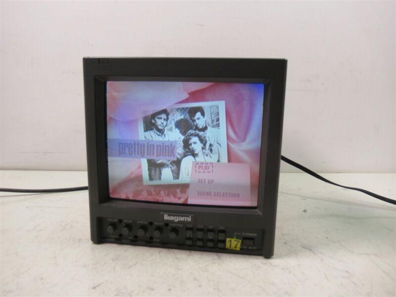 "Ikegami TM9-1 Color 9"" Monitor Professional CRT Studio Unit"