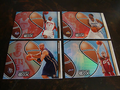 2004-05 Topps Luxury Box Basketball---Lot Of 4---3 Season Tickets/1 #/300
