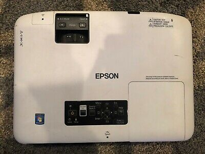 Epson PowerLite 1925W 3LCD Projector 4000 ANSI HD 1080i HDMI, BRAND NEW LAMP