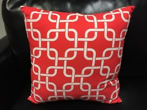Red Decorative Pillow for Couch, Sofa, Bench, or Bed Like NEW