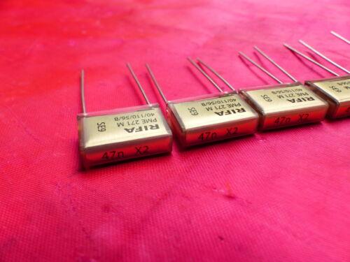 4PCS RIFA PME271M 47nF 0.047uF 275V Metal Paper Capcitors