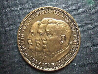 medaille bronze TOP zeppelin der schöpfer . . . R R R 1.weltfahrt 1929 online kaufen