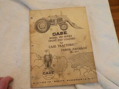 No.2 Case Model 290 Series Front End Loaders For Case Tractors Catalog No.811