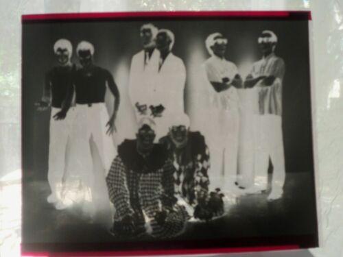 OINGO BOINGO DANNY ELFMAN COMPOSER TIM BURTON LOT NEGATIVE ONLY b&w movie photo