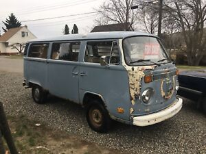 1973 Volkswagen Bus / Van WELDERS SPECIAL (Running project)