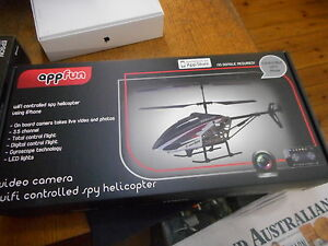 AppFun Wi-Fi Controlled Spy Helicopter  +  Video Camera