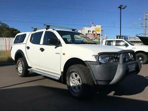 2008 Mitsubishi Triton glx turbo diesel dualcab Ute Bundaberg West Bundaberg City Preview