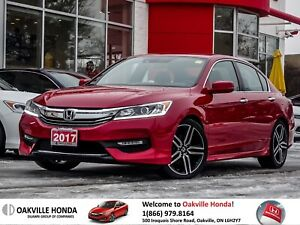 2017 Honda Accord Sedan L4 Sport Honda Sensing CVT 1-Owner|Clean