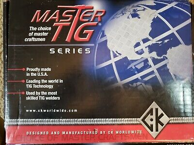 Ck Master Tig Series Torch Pkg
