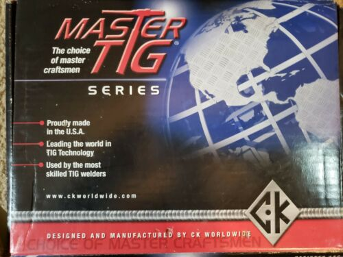 CK MASTER TIG SERIES TORCH PKG