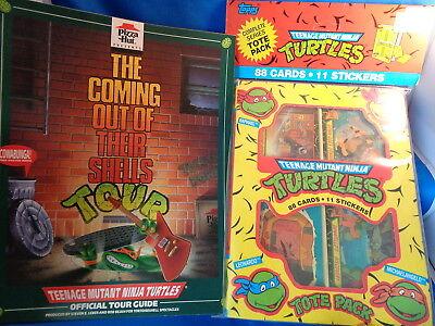 TEENAGE MUTANT NINJA TURTLES - 1989 TOPPS BOX - Teenage Mutant Ninja Turtles Hut